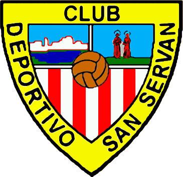 Escudo de C.D. SAN SERVAN (EXTREMADURA)