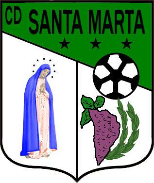Escudo de C.D. SANTA MARTA  (EXTREMADURA)