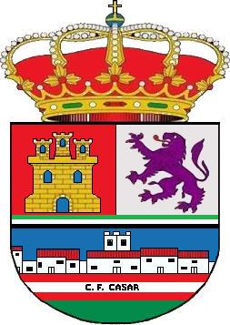 Escudo de C.F. CASAR DE CÁCERES (EXTREMADURA)