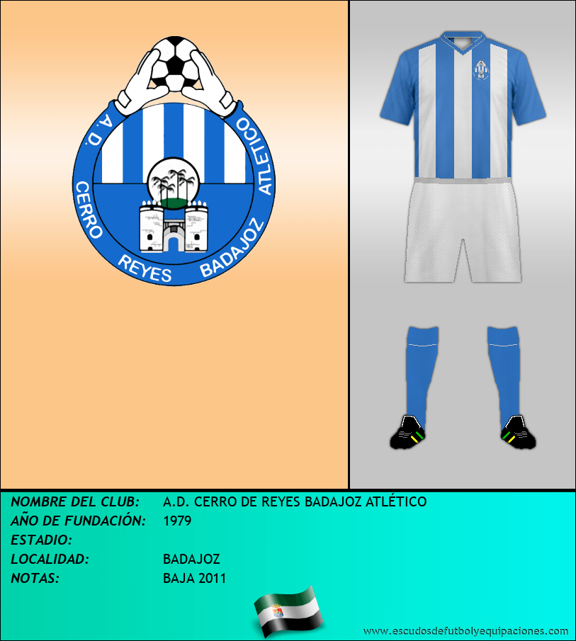 Escudo de A.D. CERRO DE REYES BADAJOZ ATLÉTICO