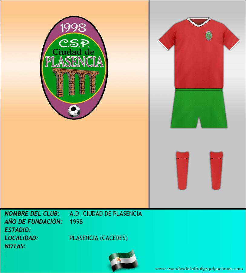Escudo de A.D. CIUDAD DE PLASENCIA