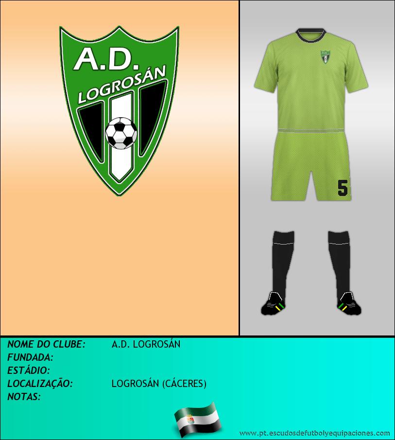 Escudo de A.D. LOGROSÁN