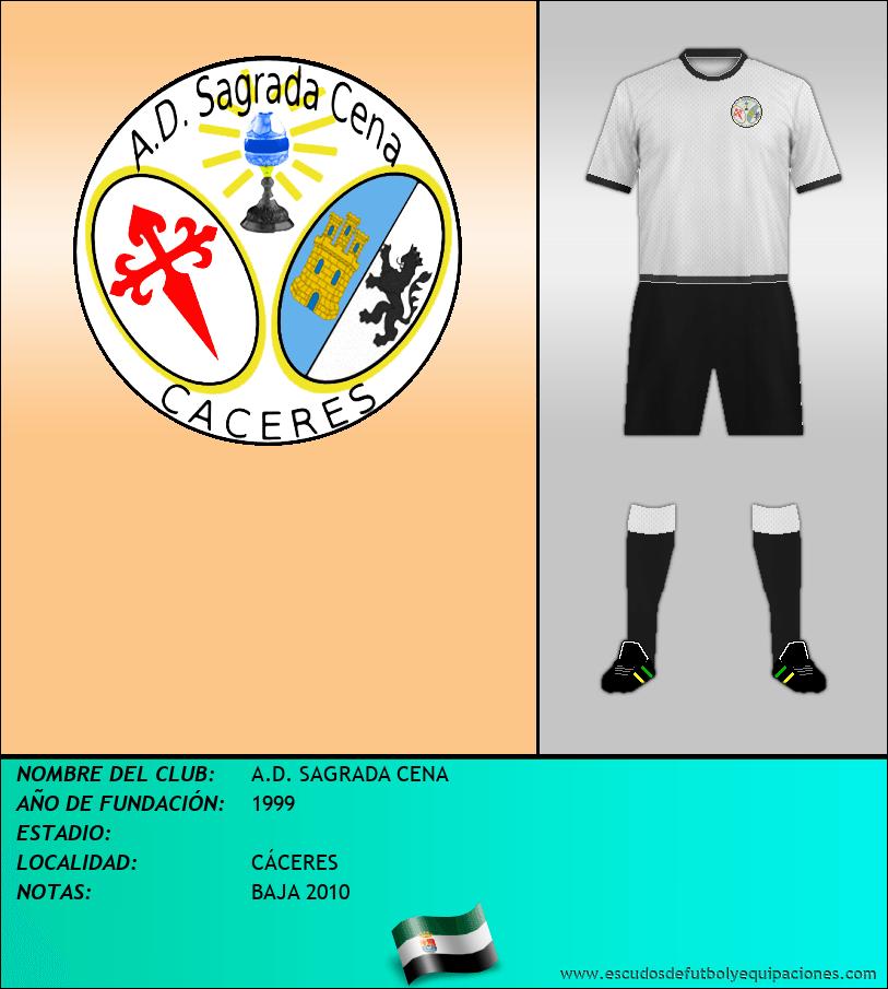 Escudo de A.D. SAGRADA CENA