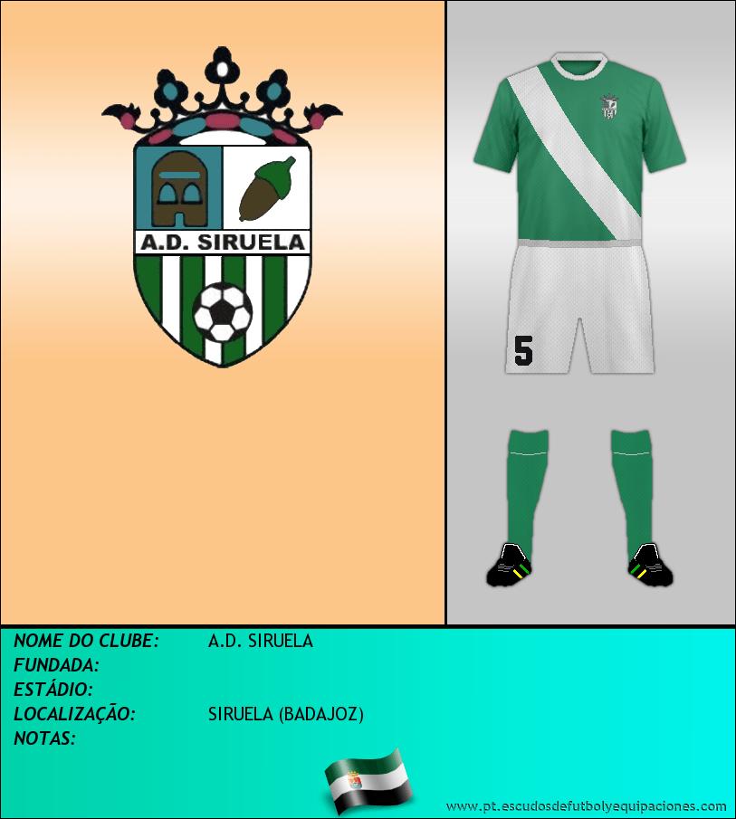 Escudo de A.D. SIRUELA