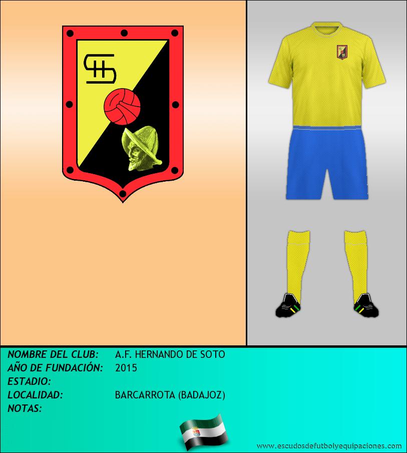 Escudo de A.F. HERNANDO DE SOTO