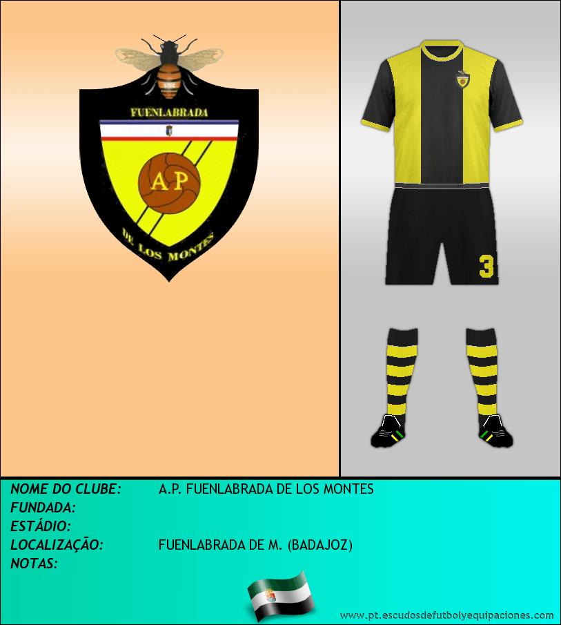 Escudo de A.P. FUENLABRADA DE LOS MONTES