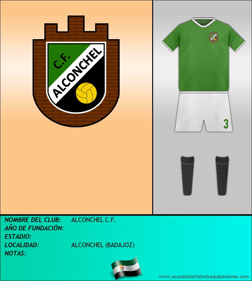 Escudo de ALCONCHEL C.F.