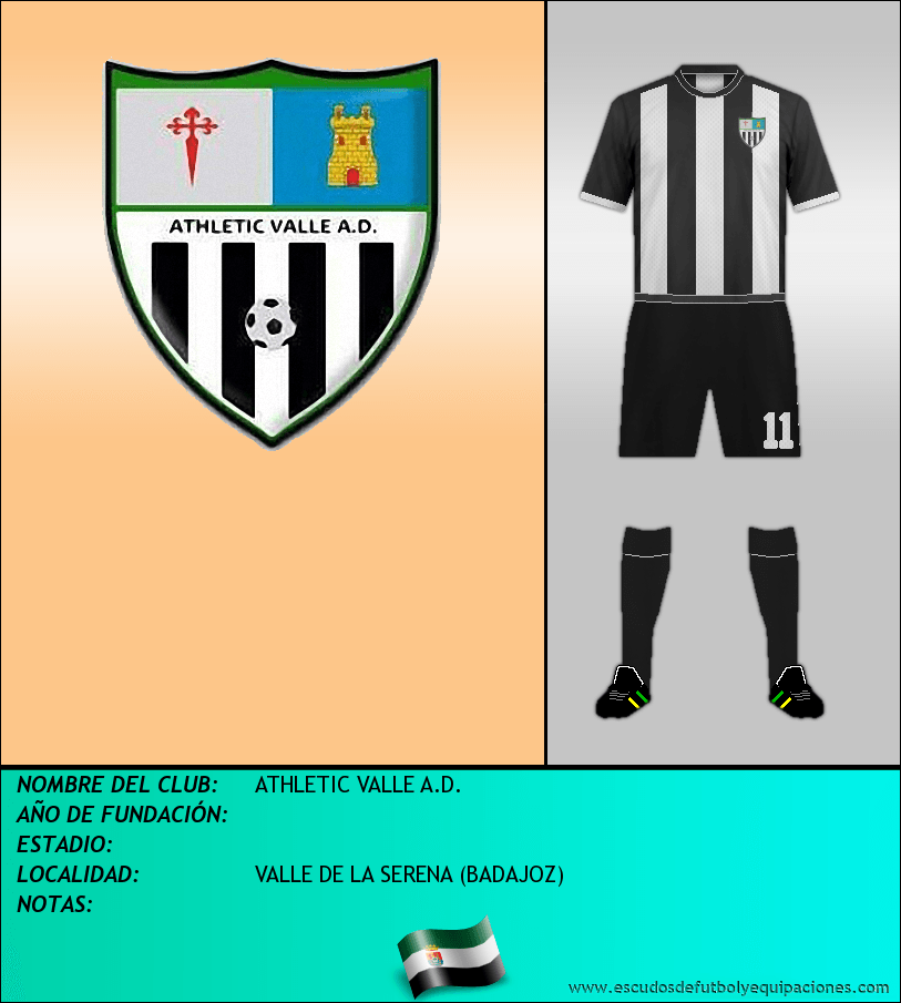 Escudo de ATHLETIC VALLE A.D.