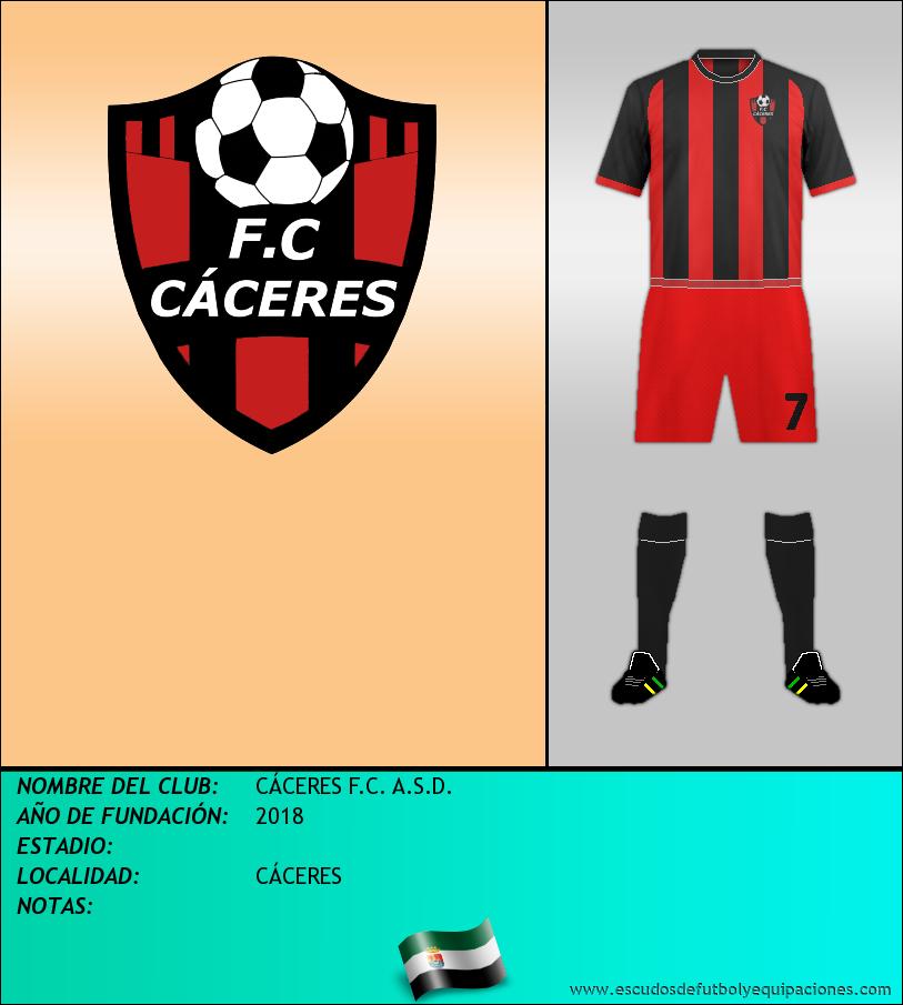Escudo de CÁCERES F.C. A.S.D.