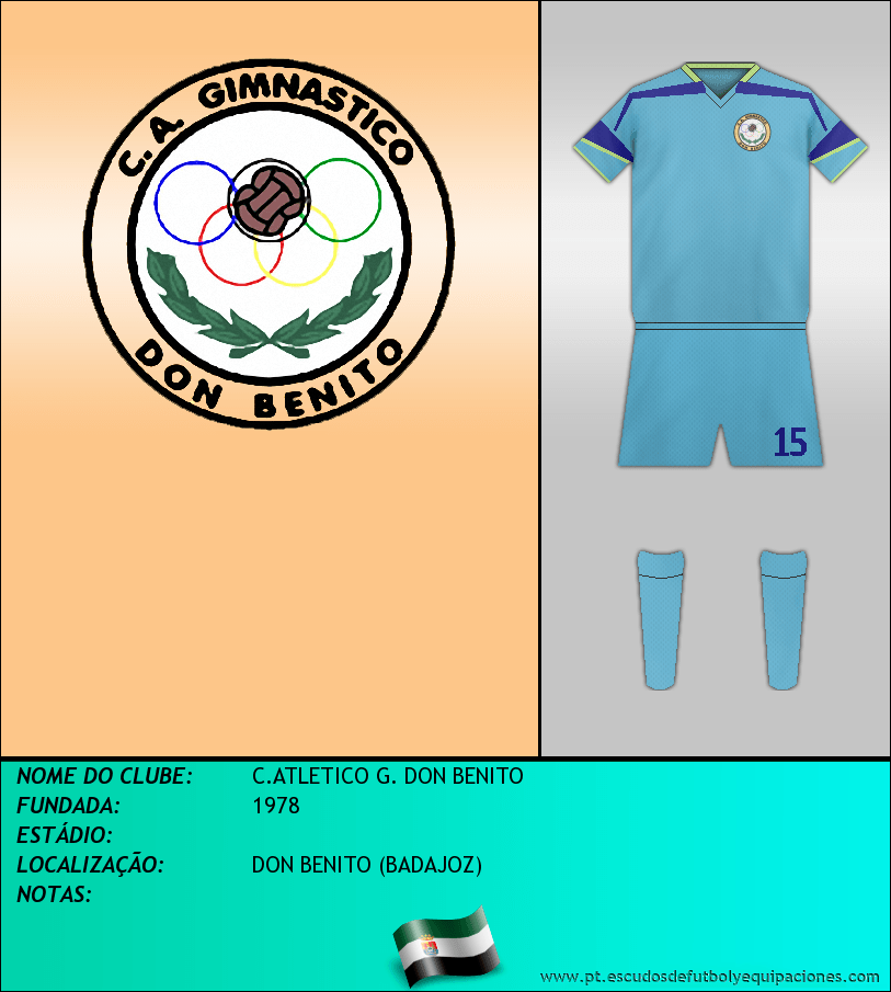 Escudo de C.ATLETICO G. DON BENITO