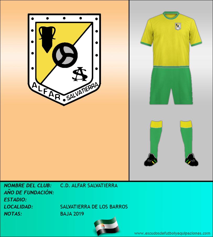 Escudo de C.D. ALFAR SALVATIERRA