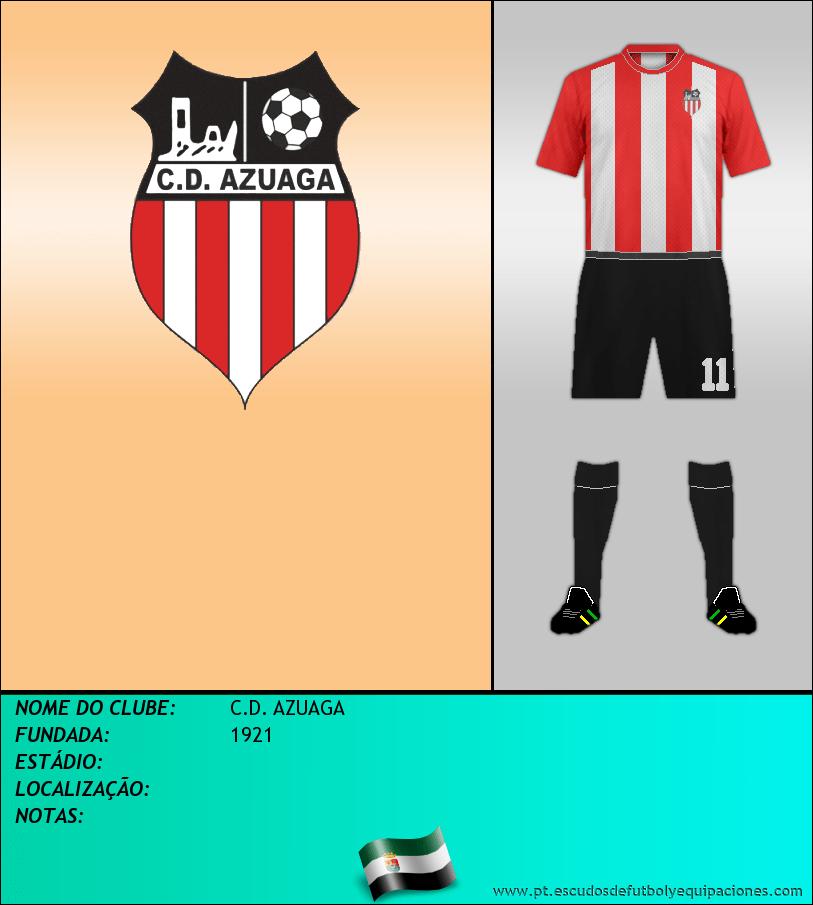 Escudo de C.D. AZUAGA
