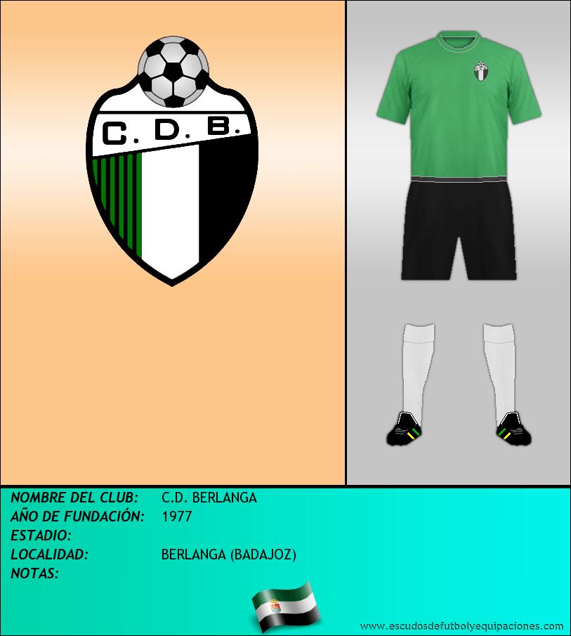 Escudo de C.D. BERLANGA