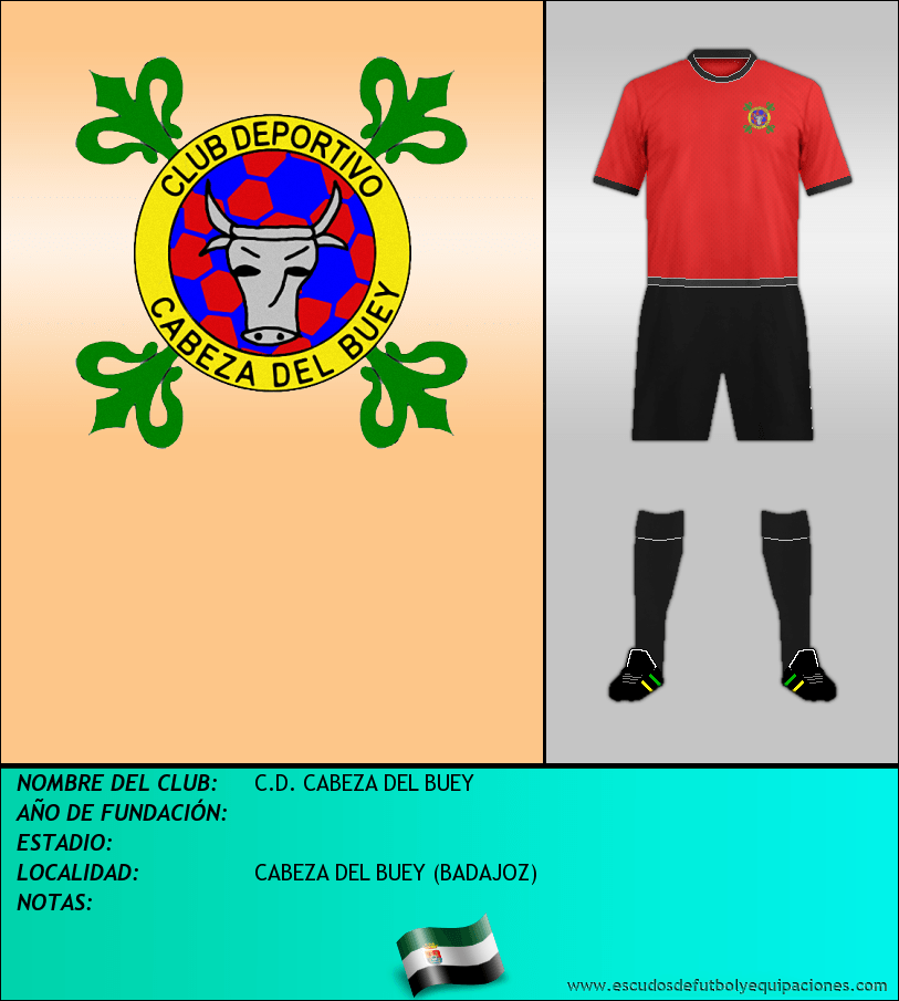 Escudo de C.D. CABEZA DEL BUEY
