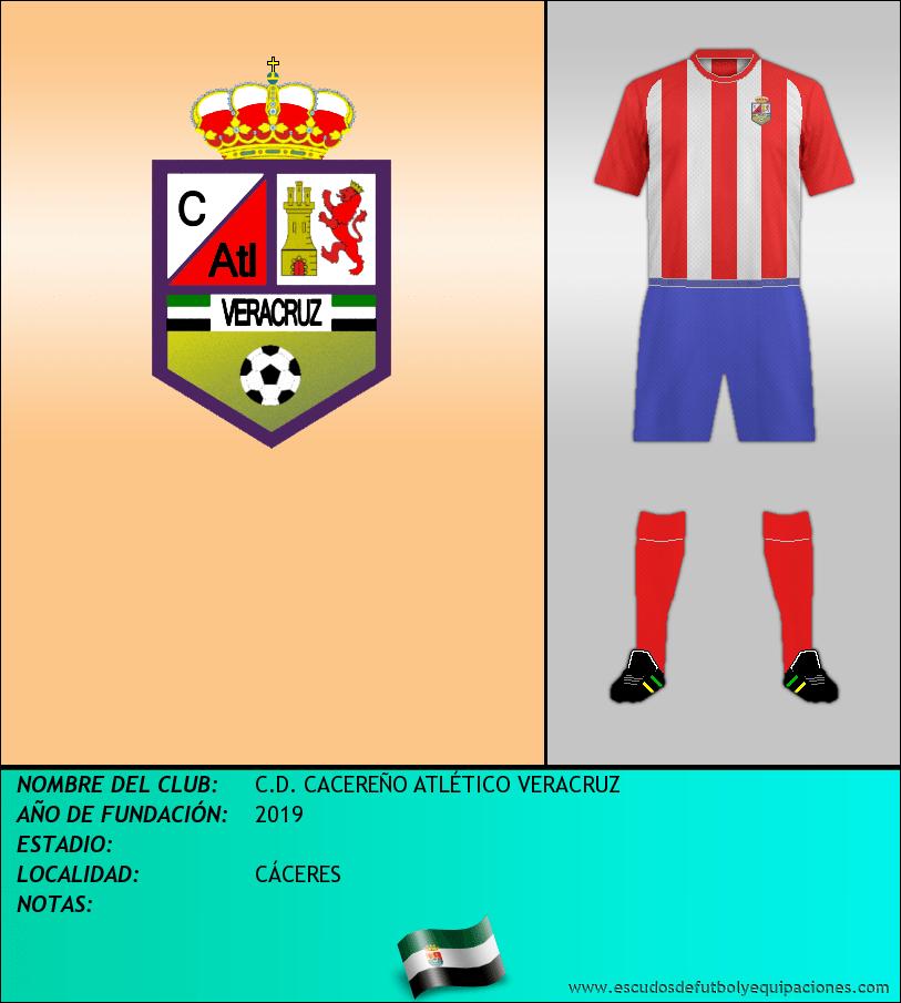 Escudo de C.D. CACEREÑO ATLÉTICO VERACRUZ