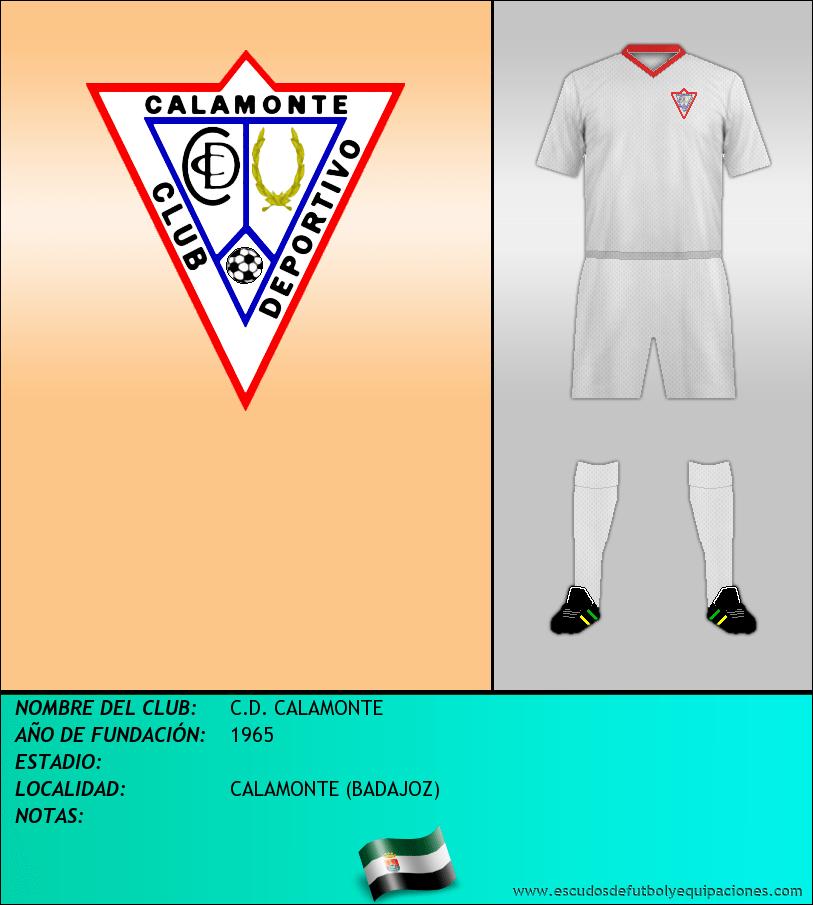 Escudo de C.D. CALAMONTE