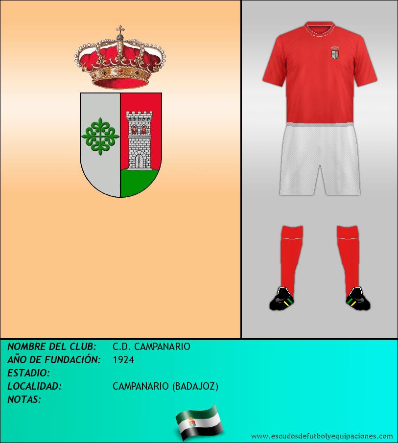 Escudo de C.D. CAMPANARIO