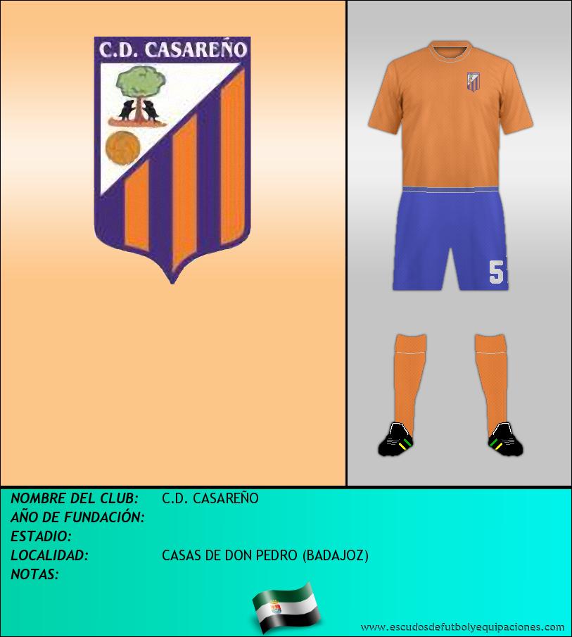 Escudo de C.D. CASAREÑO