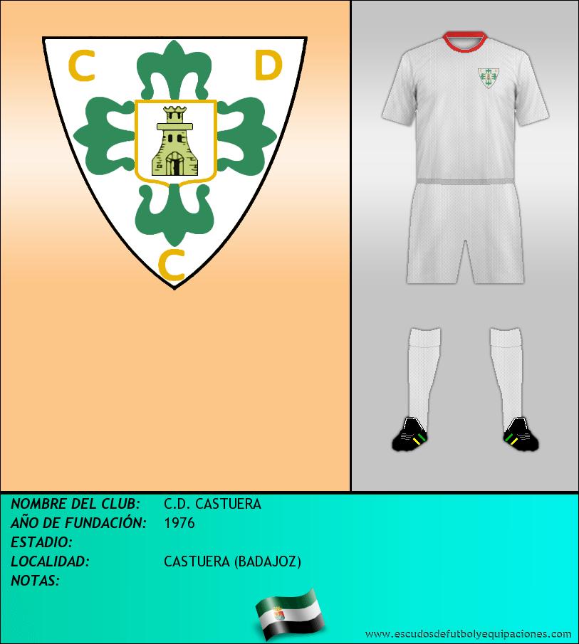 Escudo de C.D. CASTUERA