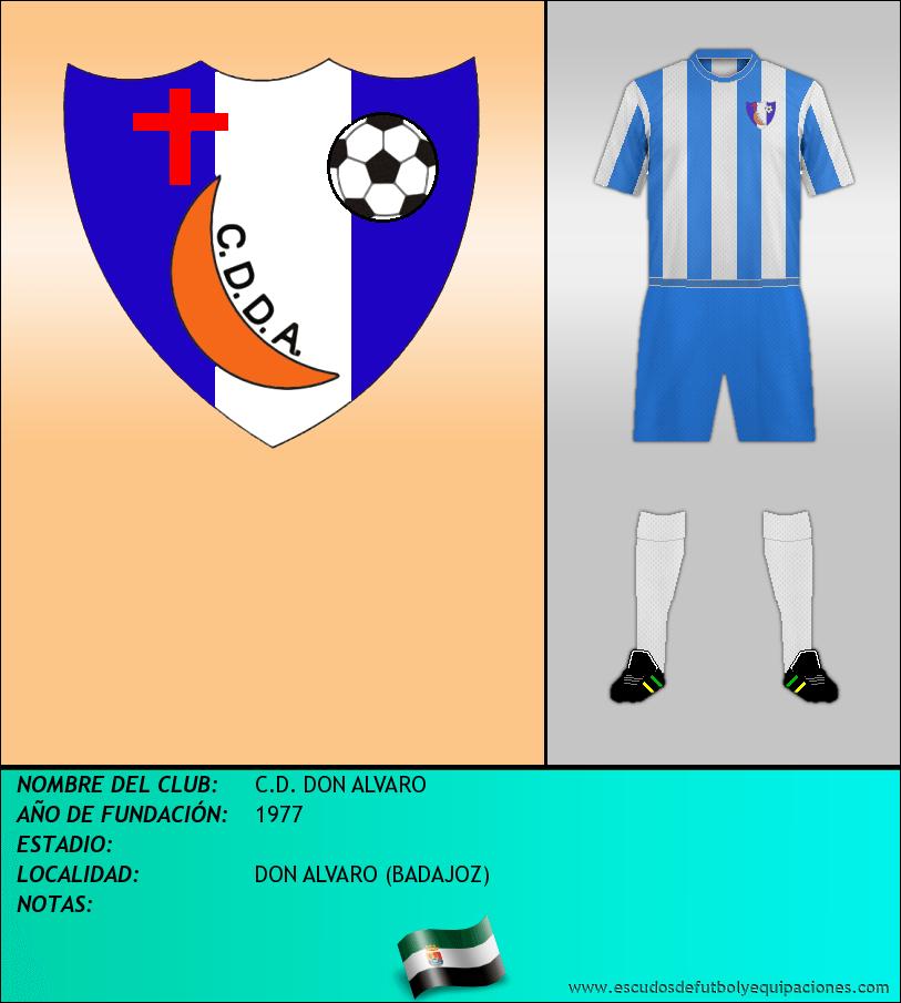 Escudo de C.D. DON ALVARO