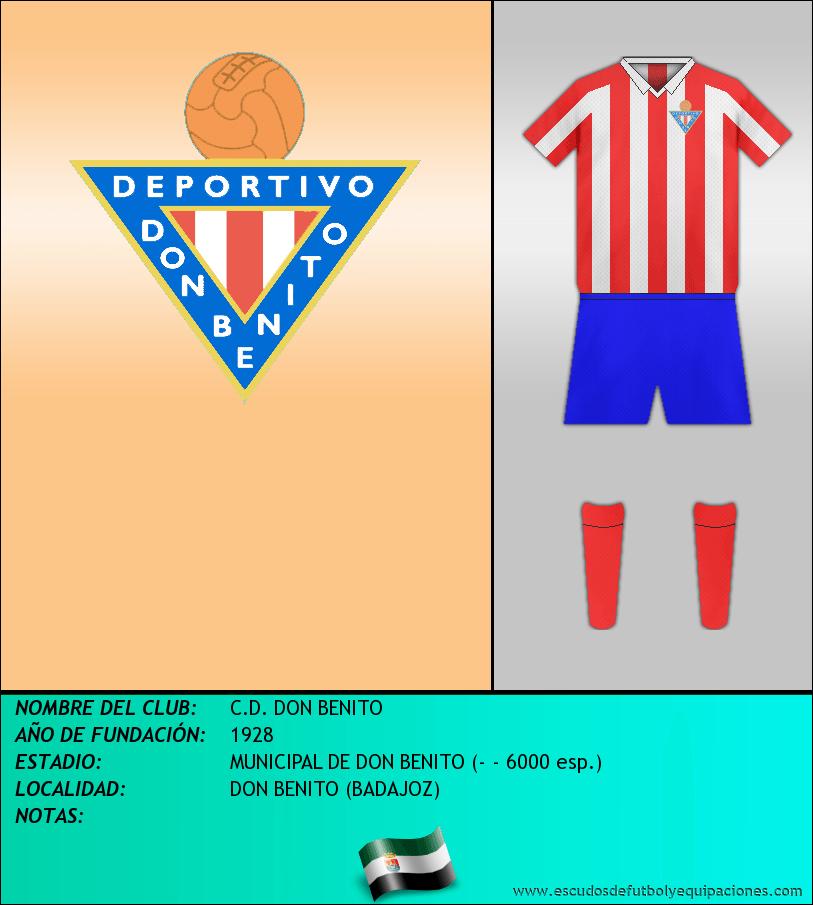 Escudo de C.D. DON BENITO