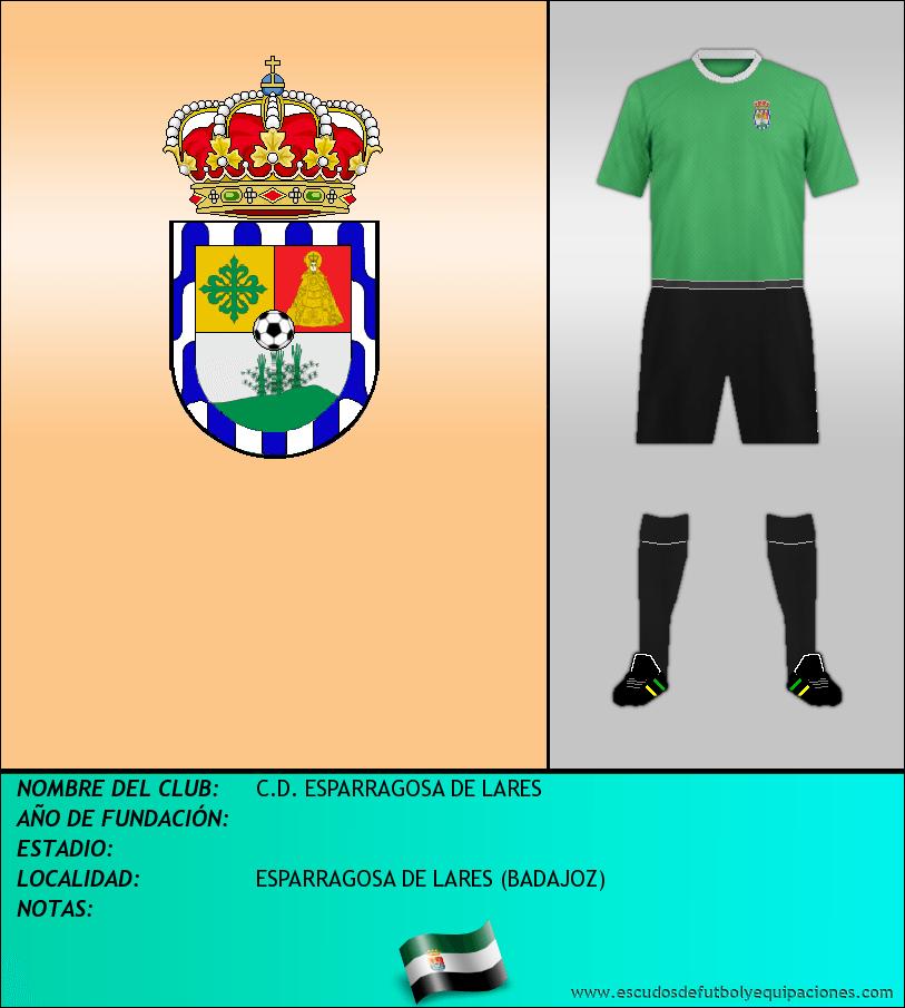 Escudo de C.D. ESPARRAGOSA DE LARES