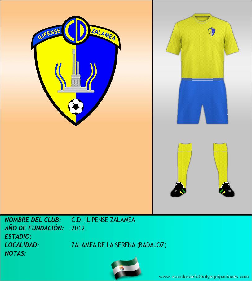 Escudo de C.D. ILIPENSE ZALAMEA