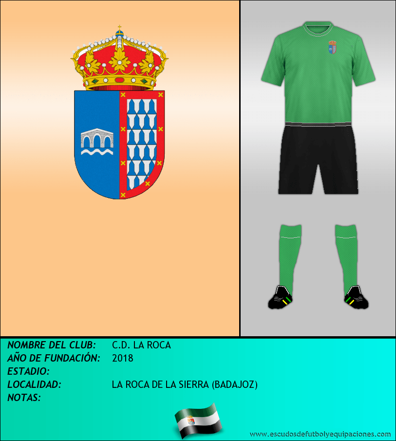 Escudo de C.D. LA ROCA