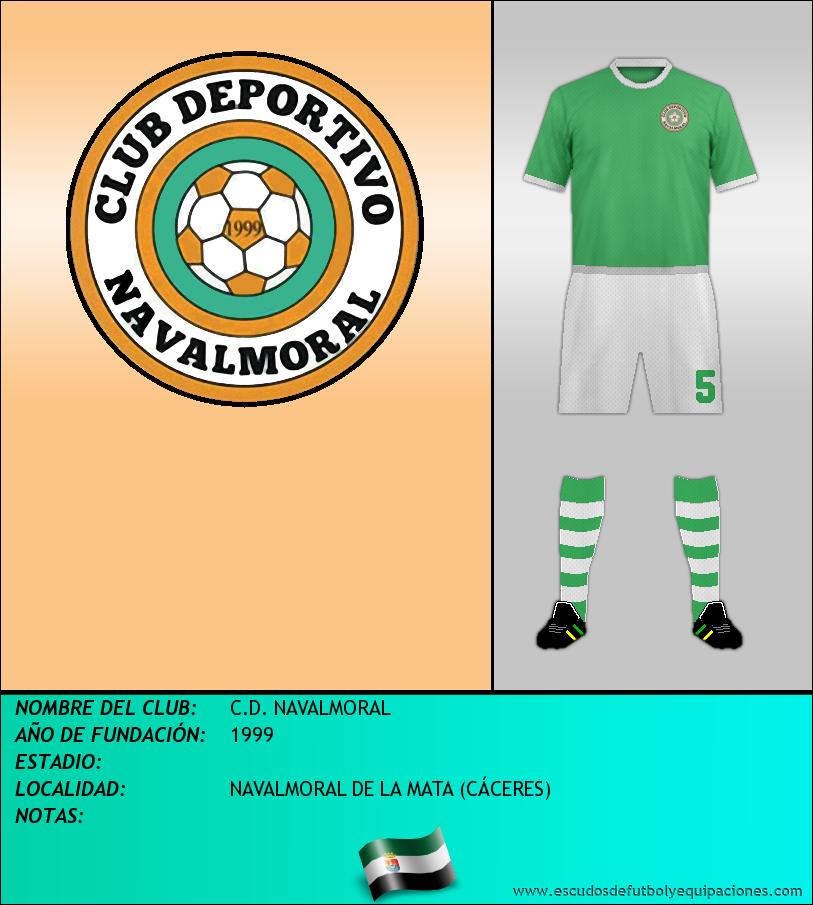 Escudo de C.D. NAVALMORAL