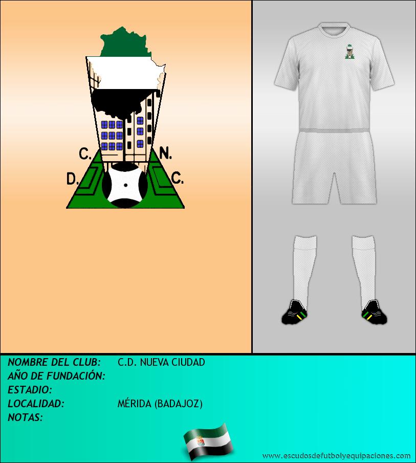 Escudo de C.D. NUEVA CIUDAD