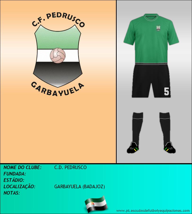 Escudo de C.D. PEDRUSCO