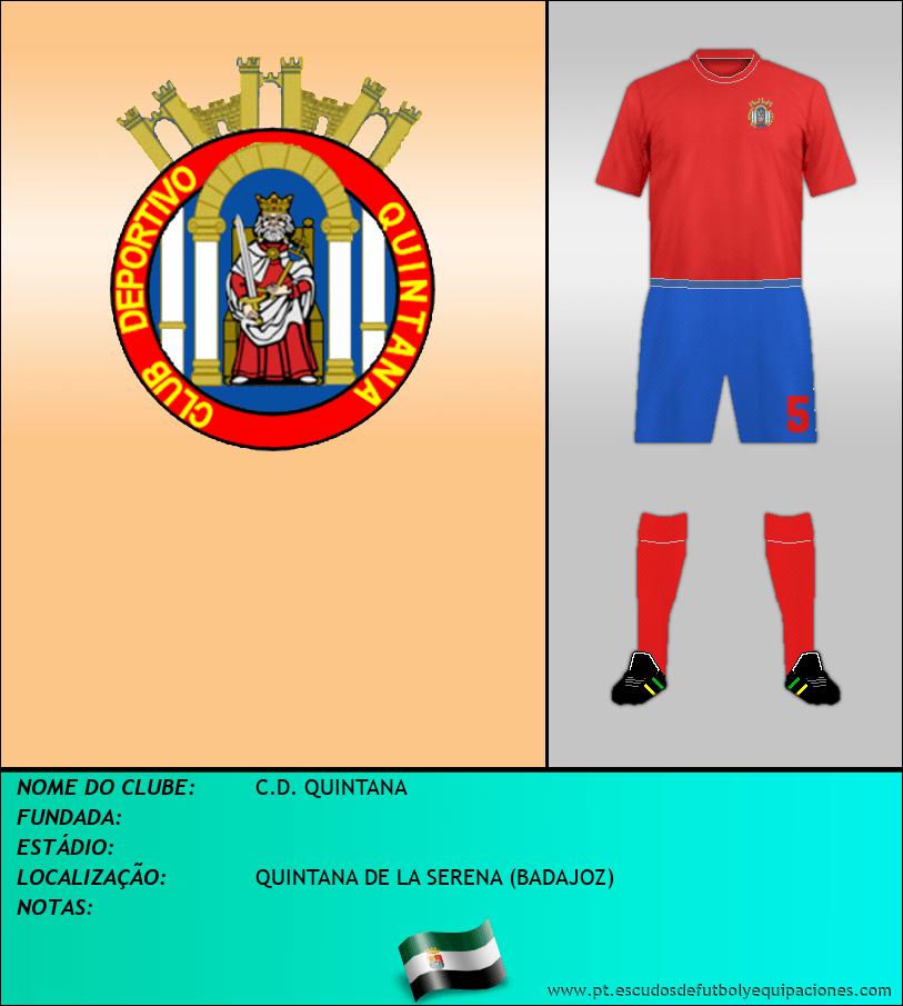 Escudo de C.D. QUINTANA