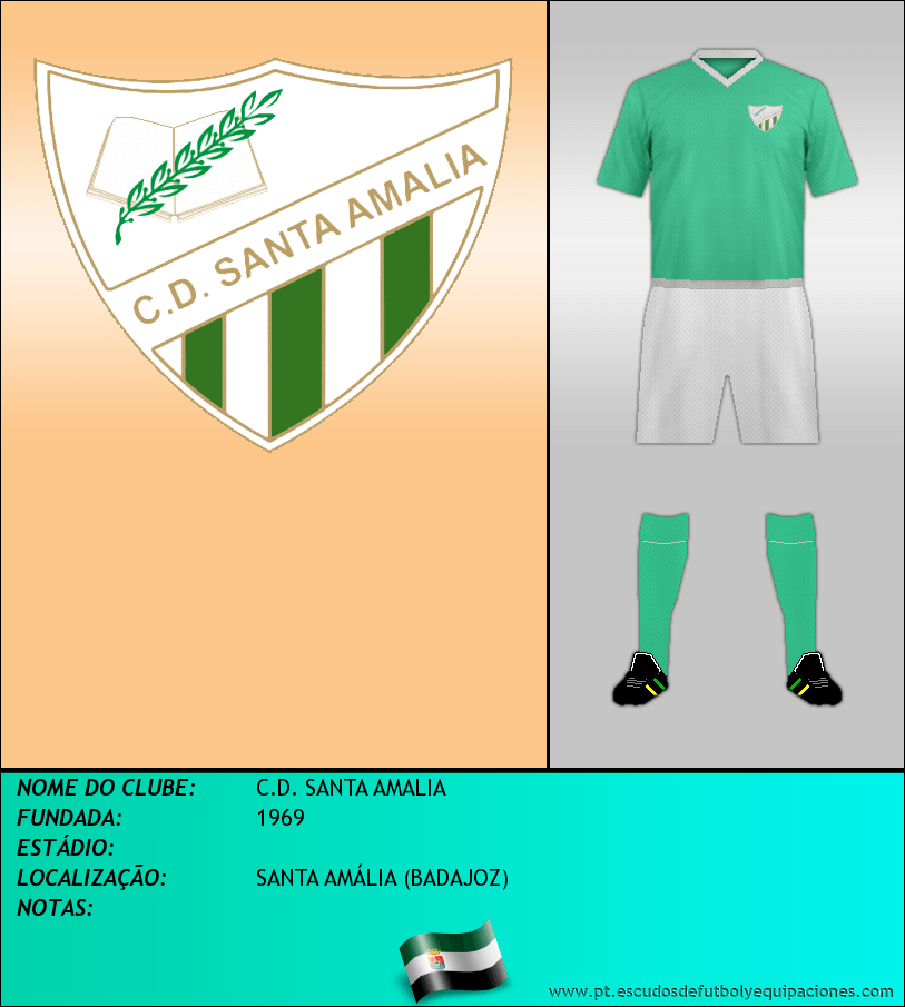 Escudo de C.D. SANTA AMALIA