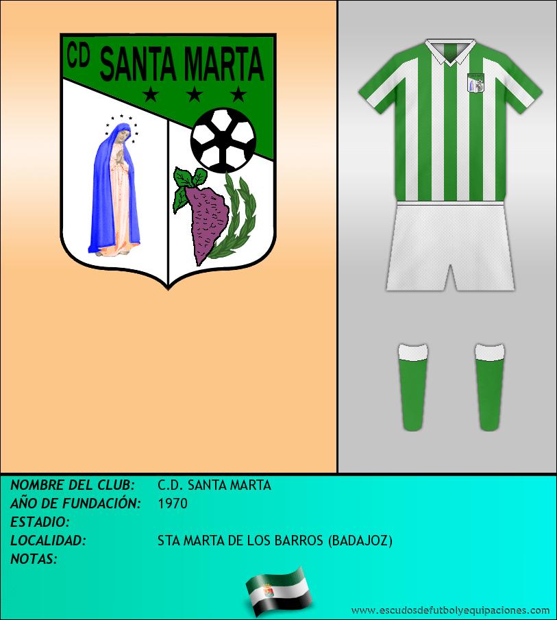 Escudo de C.D. SANTA MARTA