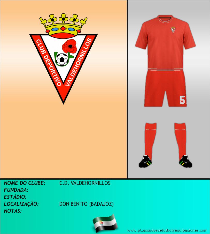 Escudo de C.D. VALDEHORNILLOS