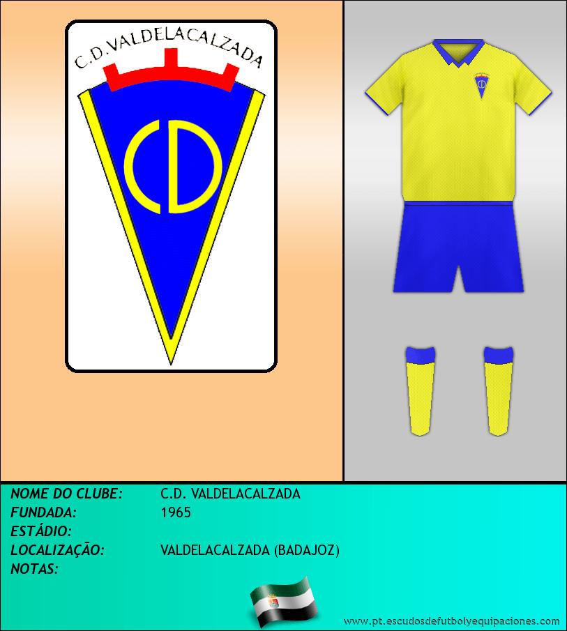Escudo de C.D. VALDELACALZADA