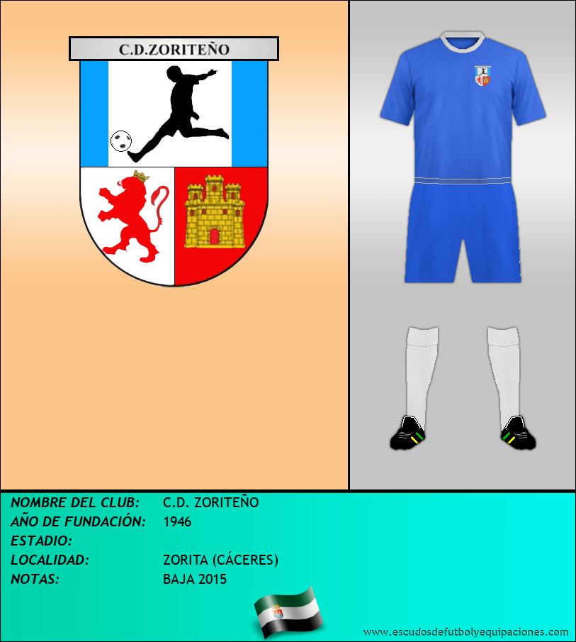 Escudo de C.D. ZORITEÑO