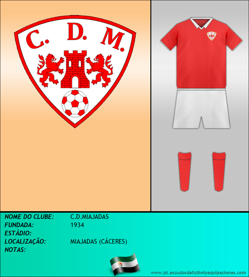 Escudo de C.D.MIAJADAS