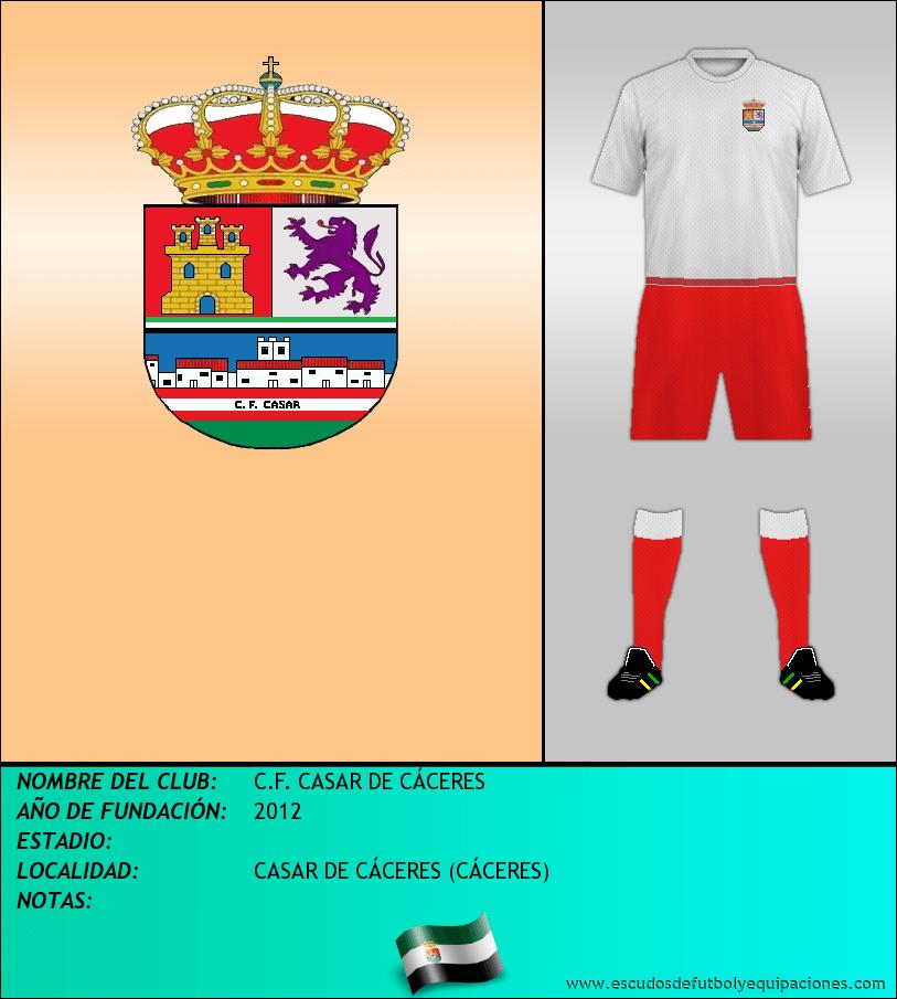 Escudo de C.F. CASAR DE CÁCERES