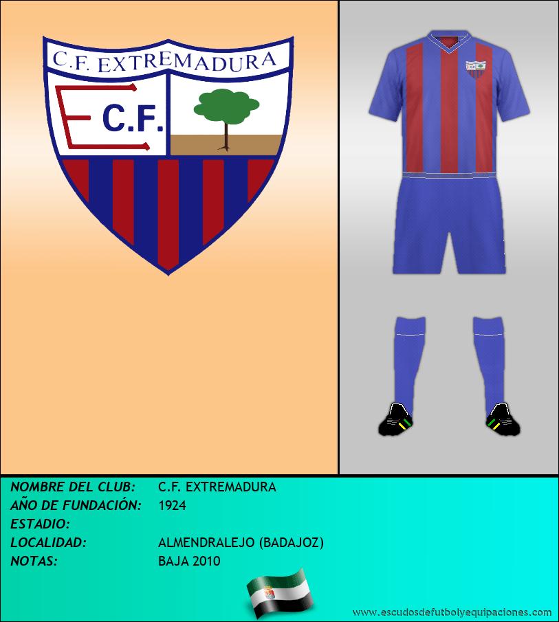 Escudo de C.F. EXTREMADURA