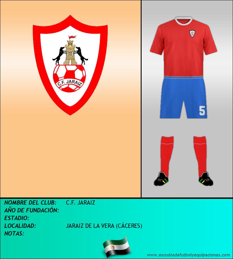 Escudo de C.F. JARAIZ