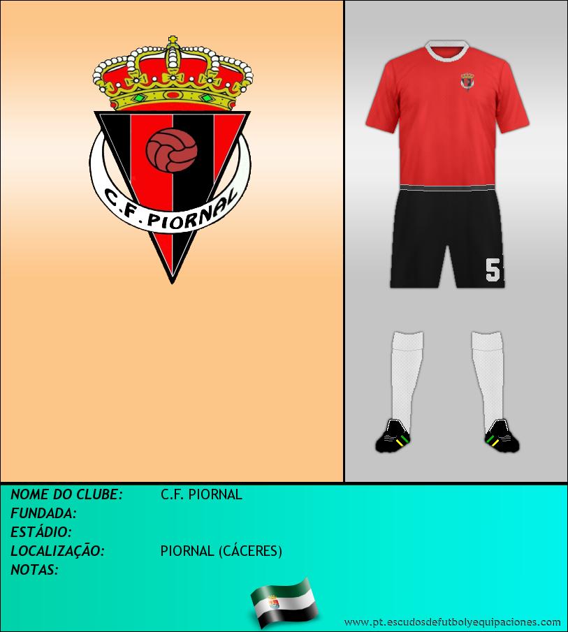 Escudo de C.F. PIORNAL