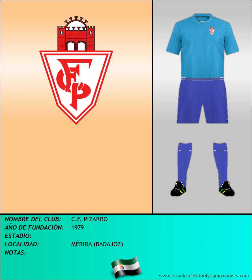 Escudo de C.F. PIZARRO