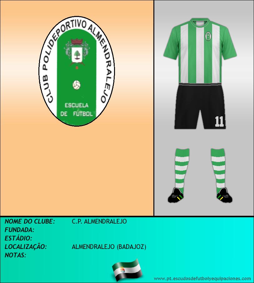 Escudo de C.P. ALMENDRALEJO