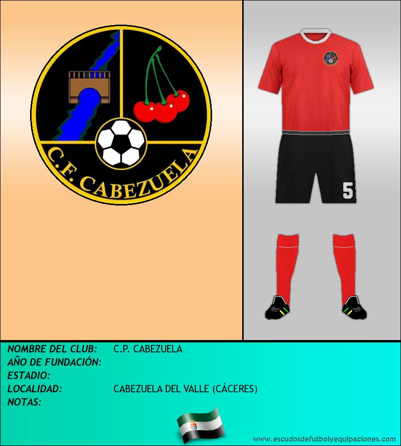 Escudo de C.P. CABEZUELA