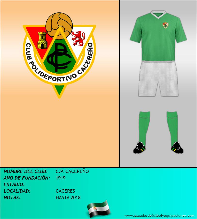 Escudo de C.P. CACEREÑO