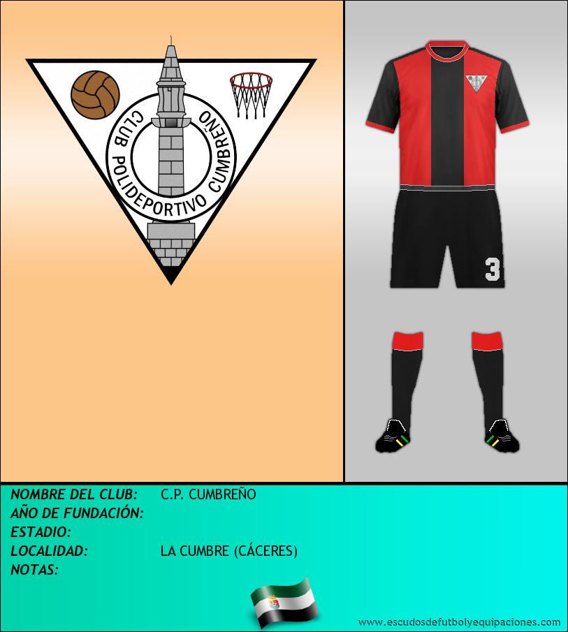 Escudo de C.P. CUMBREÑO
