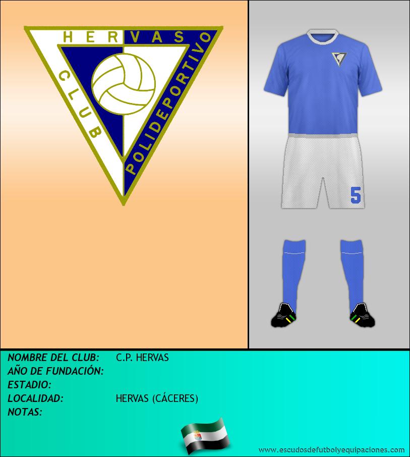 Escudo de C.P. HERVAS