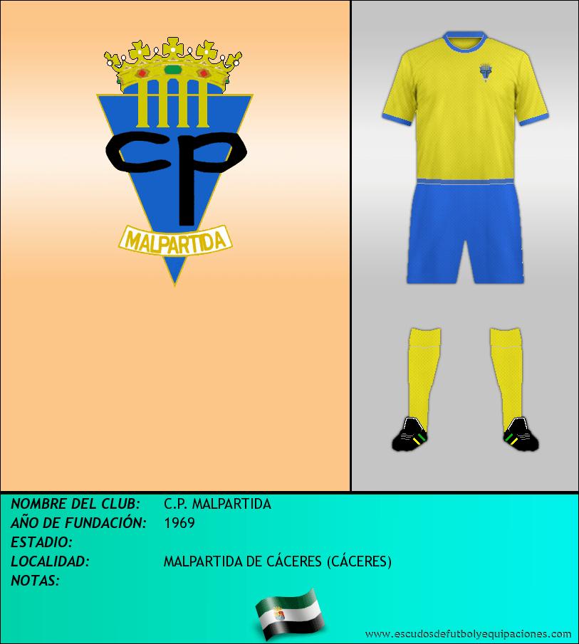 Escudo de C.P. MALPARTIDA