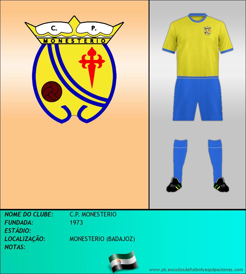 Escudo de C.P. MONESTERIO